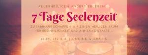 """Seelenzeit """"Samhain & Allerheiligen mal anders erleben"""" @ Online / eMail-Kurs"""